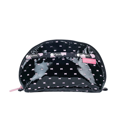 Hello Kitty x LeSportsac Dome Cosmetic in Hello Kitty Perf Noir
