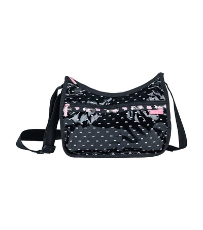 Hello Kitty x LeSportsac Classic Hobo in Hello Kitty Perf Noir