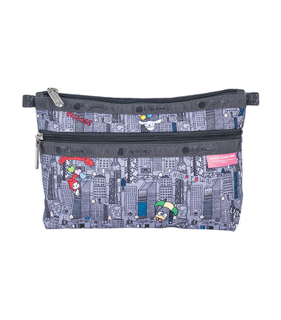 Hello Kitty x LeSportsac Cosmetic Clutch in Hello Kitty City
