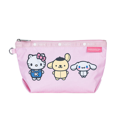 Hello Kitty x LeSportsac Medium Sloan Cosmetic in Hello Kitty and Friends