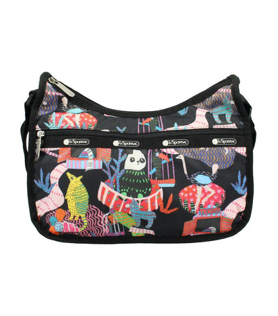 Classic Hobo Bag Midnight Menagerie