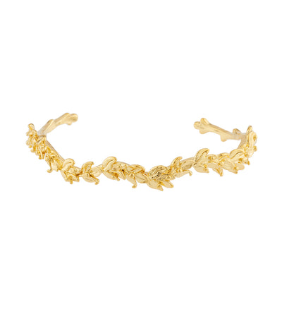 Les Néréides Laurel Leaves Bangle Bracelet