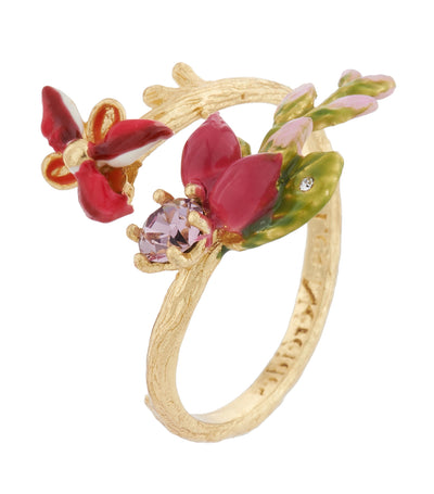 les néréides coco plums adjustable ring