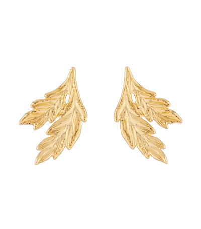 les néréides ear of wheat stud earrings