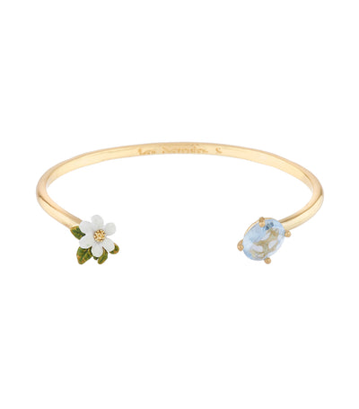 les néréides cosmos and carved crystal bangle bracelet