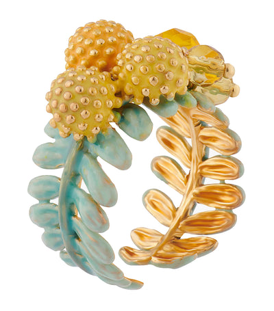 Mimosa Blossom Adjustable Ring