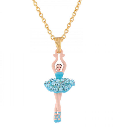 Aquamarine Ballerina Necklace