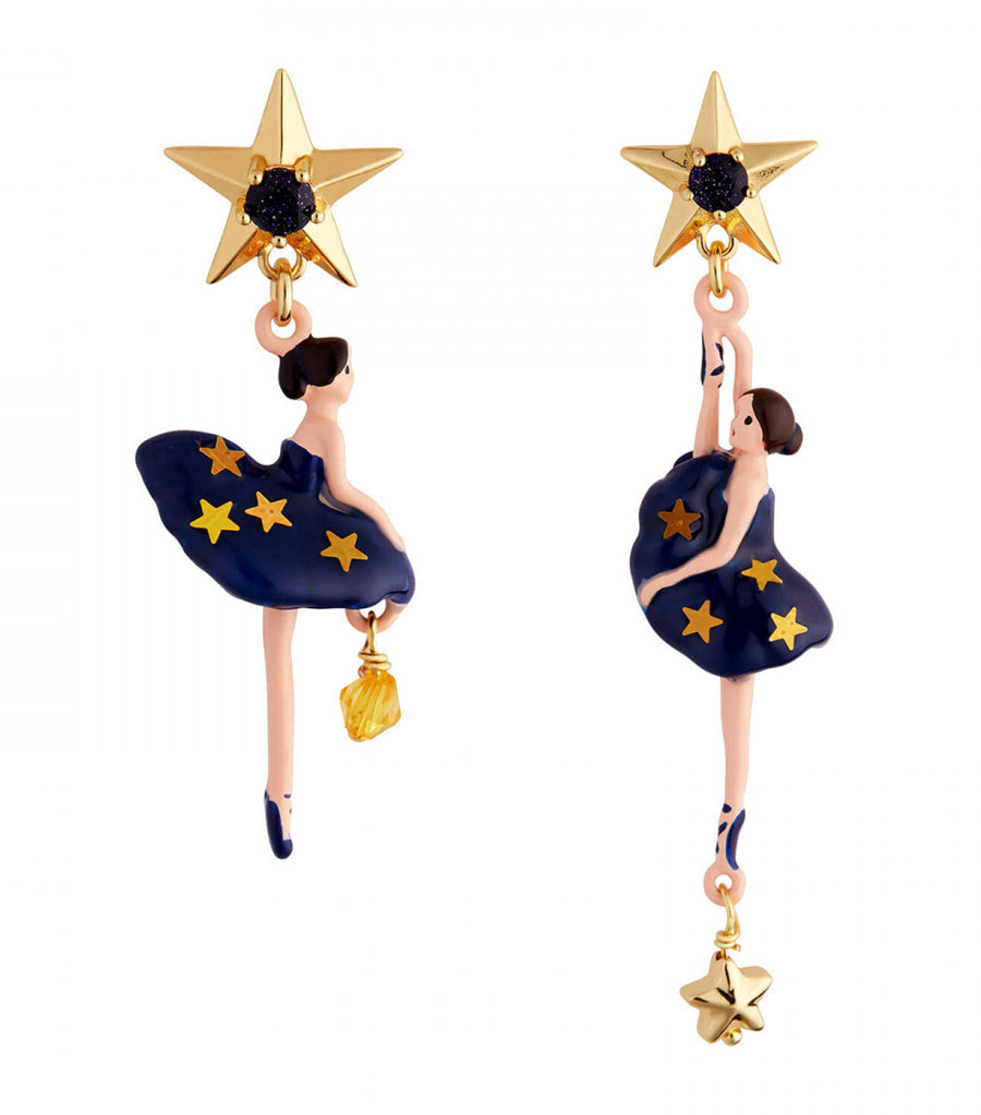 Asymmetrical Constellation Earrings