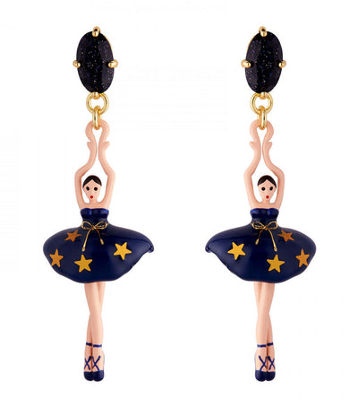 Constellation Ballerina Stud Earrings
