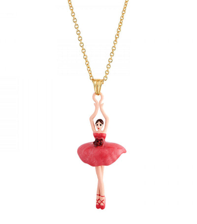 Rose Bud Ballerina Necklace