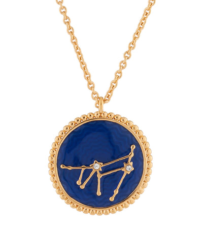 Capricorn Zodiac Sign Necklace