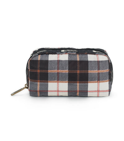 lesportsac chestnut rectangular cosmetic pouch