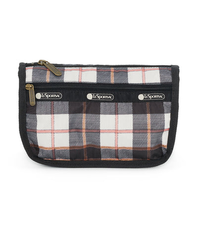 lesportsac chestnut travel cosmetic pouch