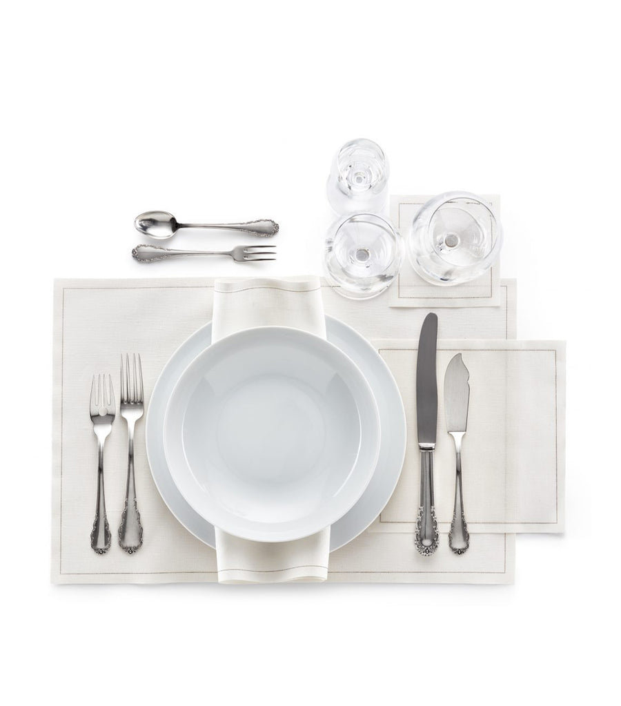Basic Linen Placemat 45cm - Cream