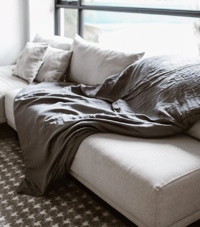linen & homes tranquility weighted blanket
