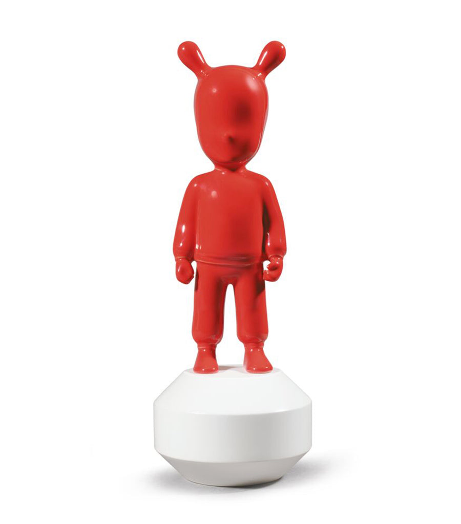 Lladro The Red Guest Figurine - Small Model