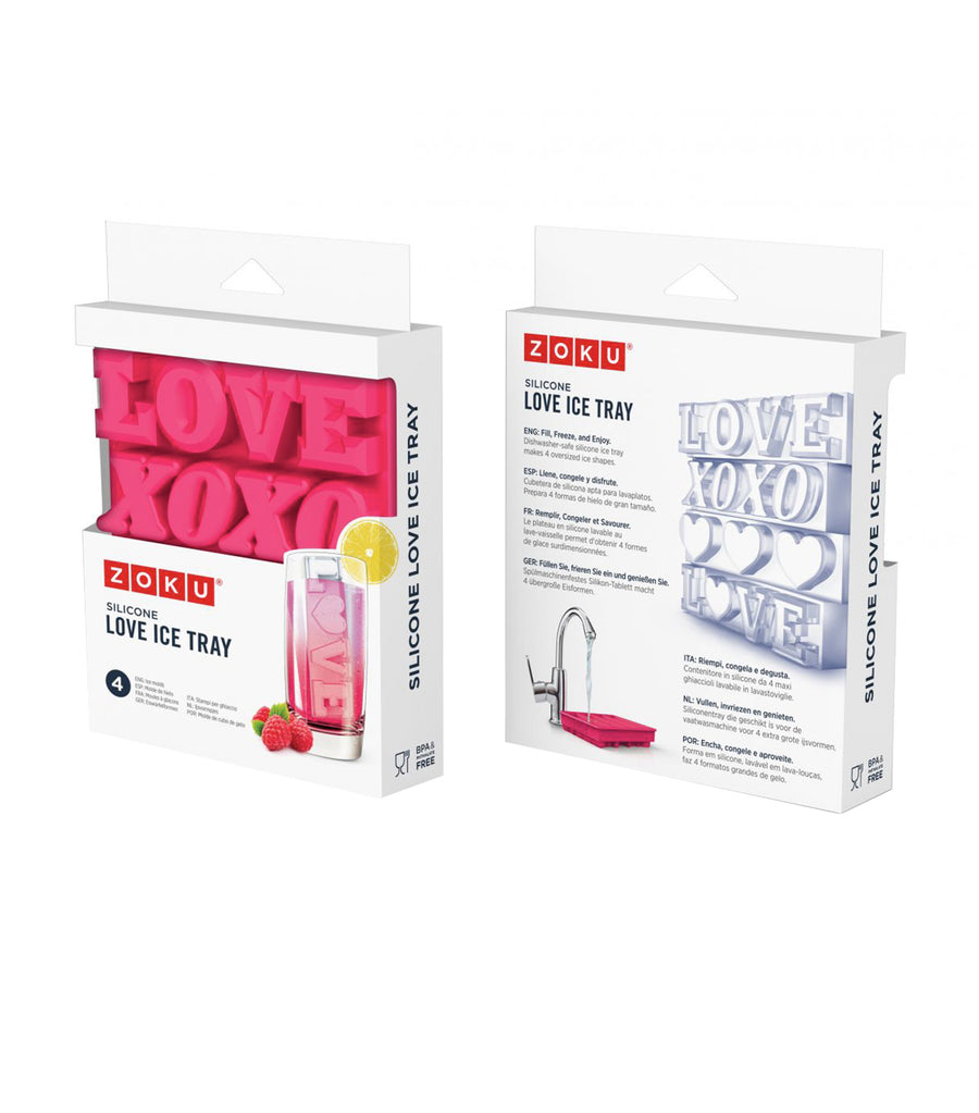 zoku love ice tray