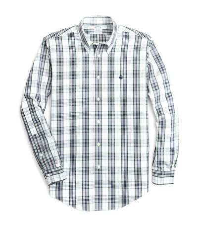 Milano Fit Sport Shirt Plaid