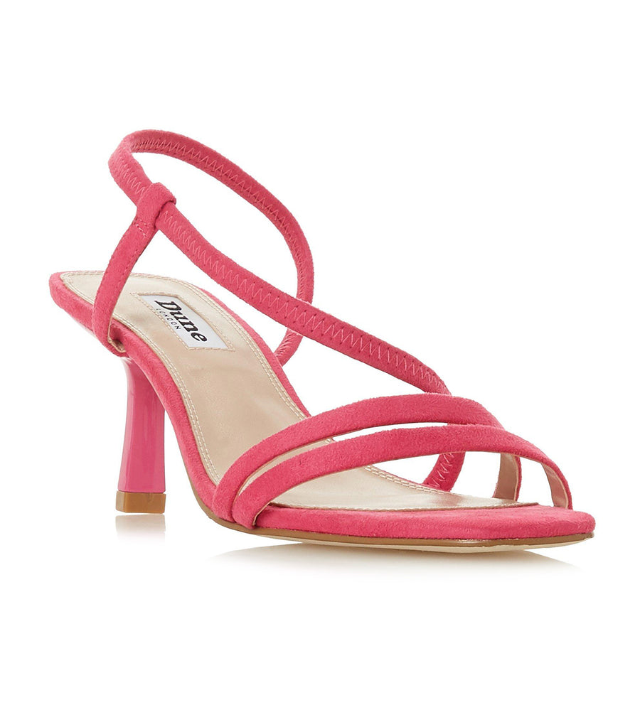 Miso Open Toe Strap Sandals Pink