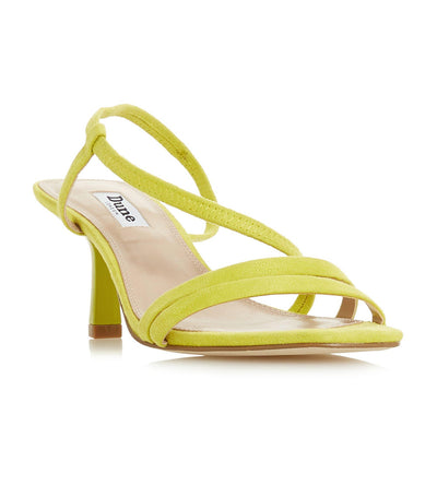 Miso Open Toe Strap Sandals Yellow