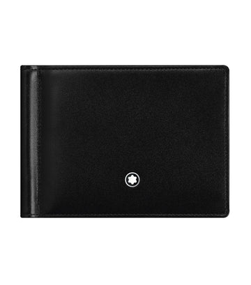 Meisterstück Wallet 6cc with Money Clip Black