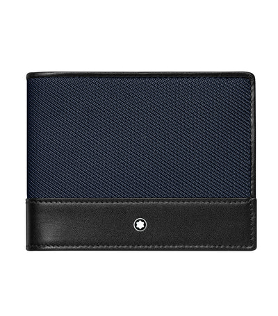 Nightflight Wallet 4cc with Money Clip Blue