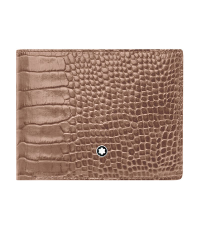 Meisterstück Selection 6cc Wallet with Coin Case Taupe