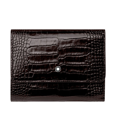 Meisterstück Selection 4cc Wallet with Flap Black