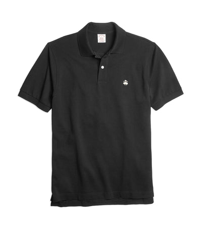 Extra-Slim Fit Supima® Cotton Performance Polo Shirt Black