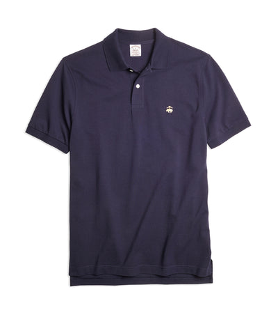 Extra-Slim Fit Supima® Cotton Performance Polo Shirt Navy