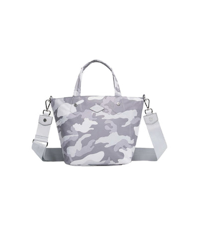 mz wallace mini soho nylon tote light grey camo