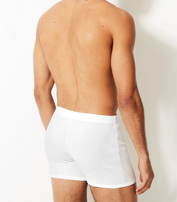 5-Pack Cotton Trunks White