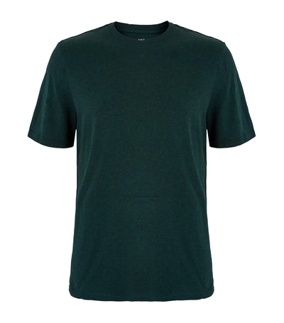 Pure Cotton Crew Neck T-Shirt Green