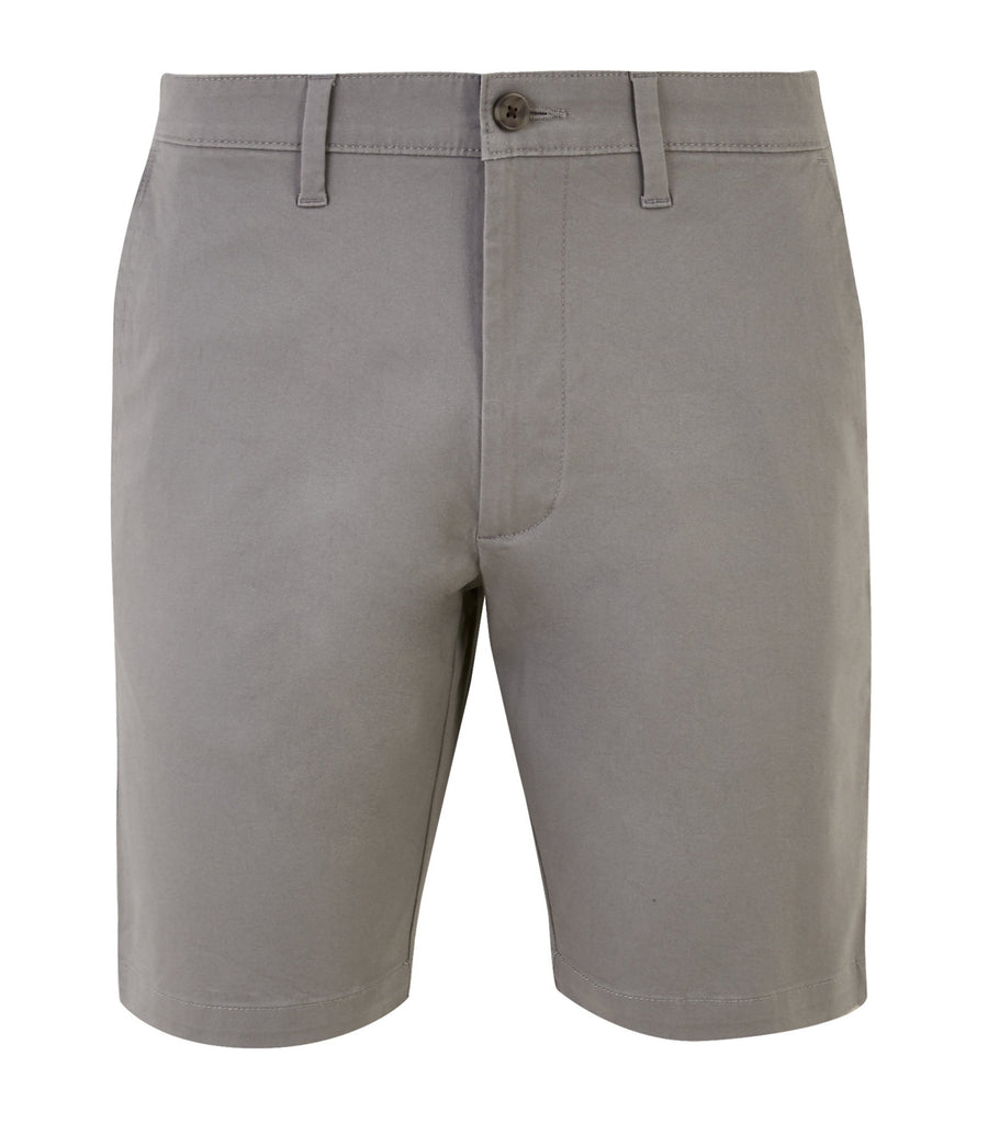 Stretch Chino Shorts Gray