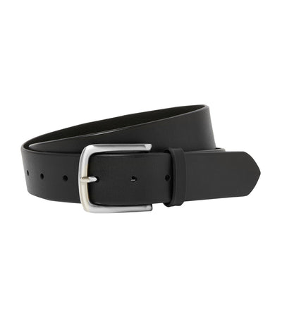 Leather Buckle Belt Black