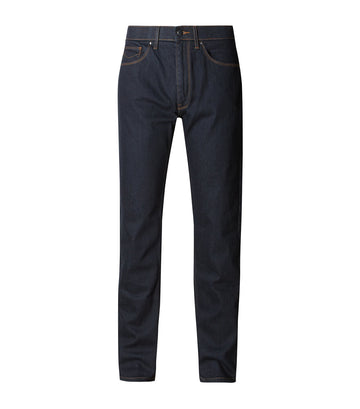 Tapered Fit Stretch Jeans with Stormwear™ Indigo