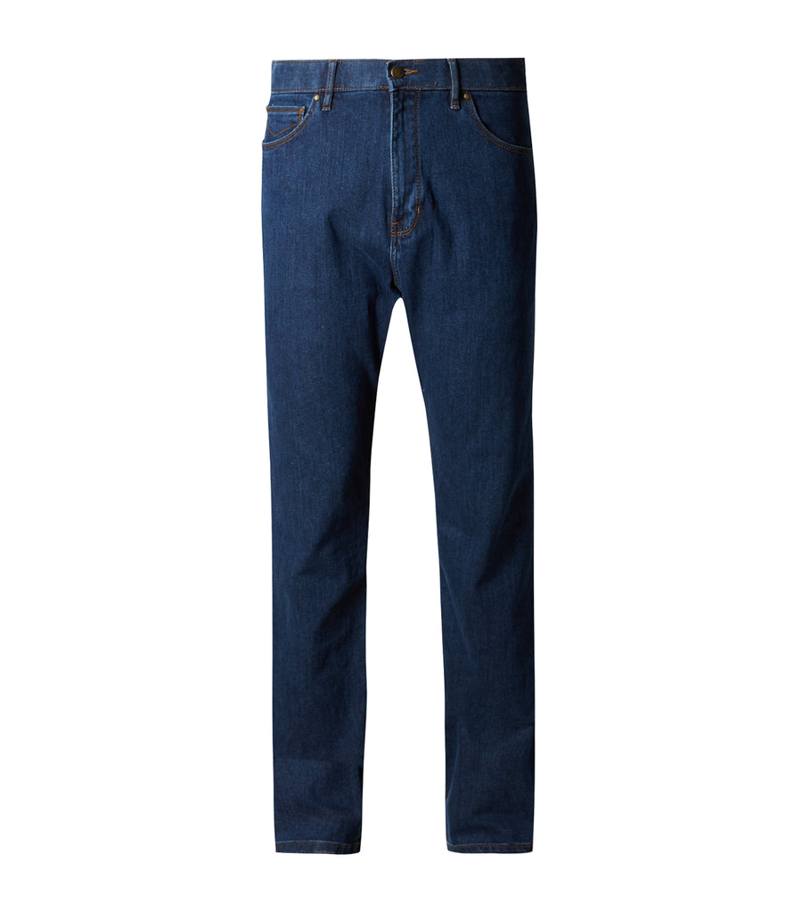 Regular Fit Stretch Jeans with Stormwear™ Medium Blue