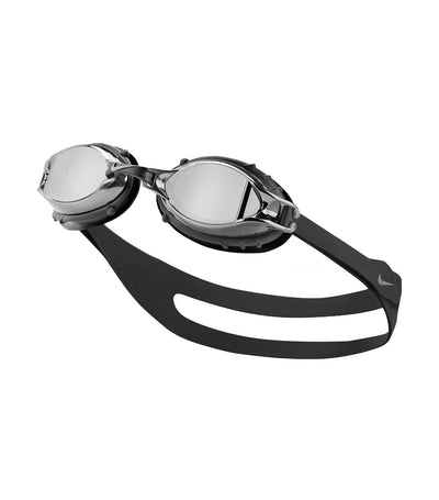 nike swim unisex chrome mirror youth goggle smoke