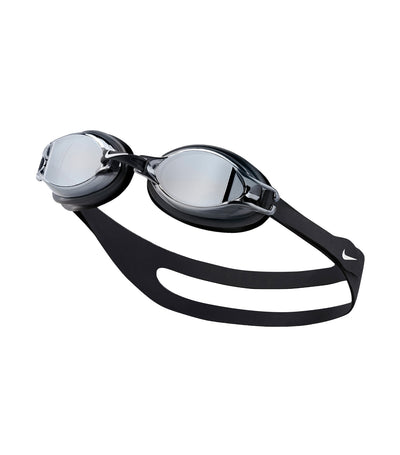 nike swim unisex chrome mirror goggle black