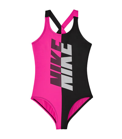 nike swim rift crossback one piece black