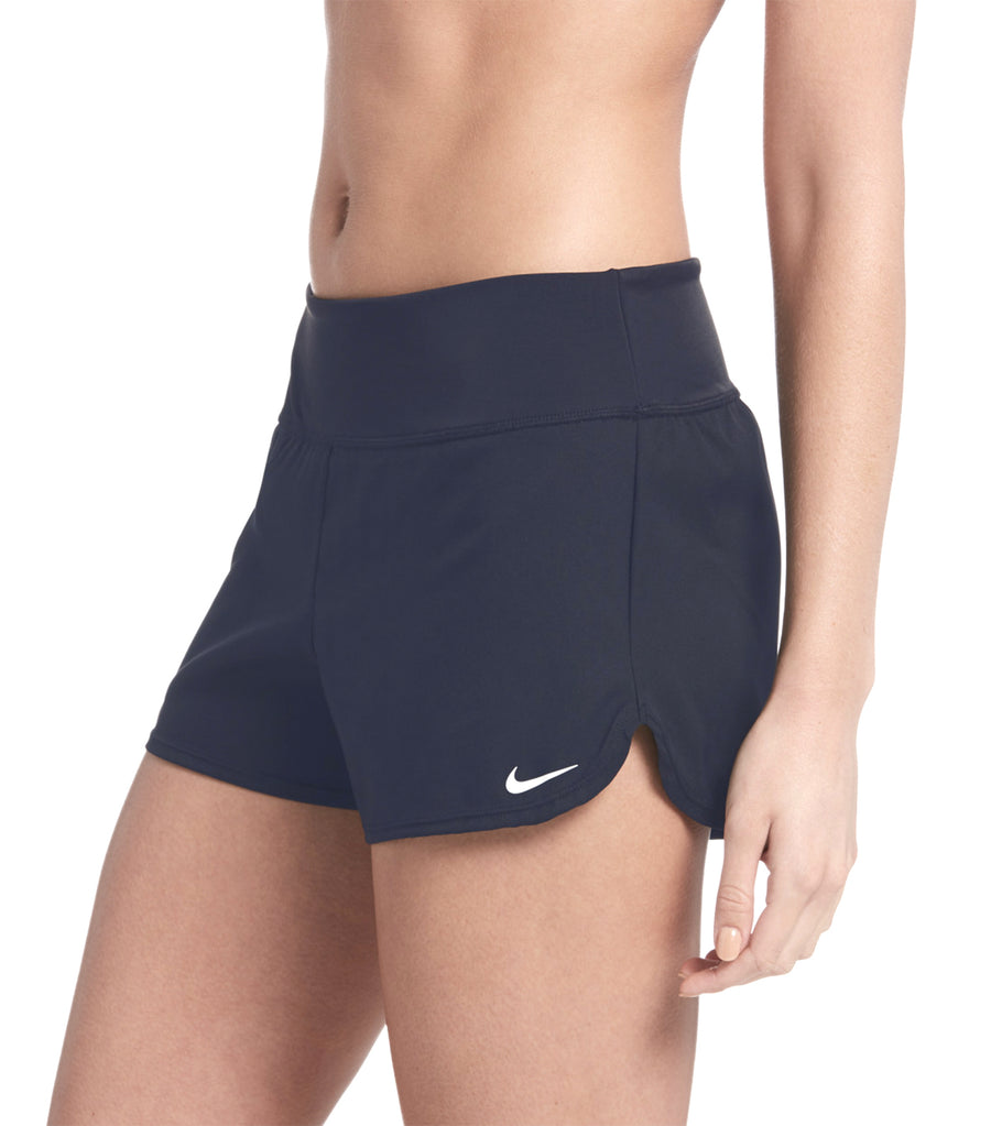 nike swim solid element swim board shorts black