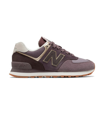 New Balance Women's 574 Classic Patch Work Pack Sneakers Dark Cashmere