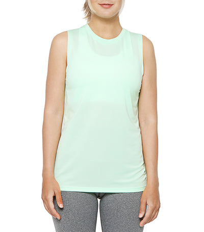 atsui pesa layer tank mint green