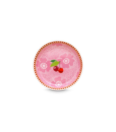 pip studio floral tea tip dotted flower pink