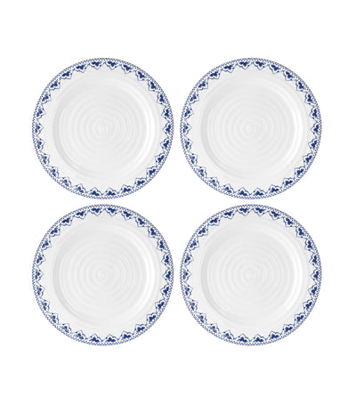 portmeirion sophie conran blue 11-inch set of 4