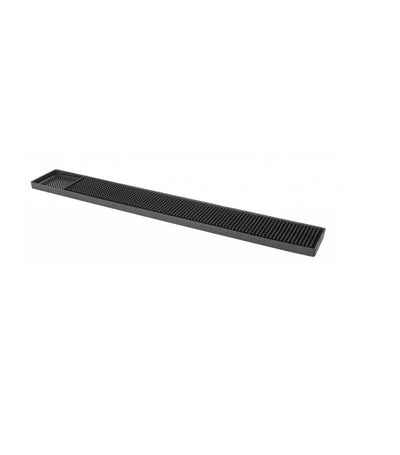 bar professional bar mat black rubber 8 x 60