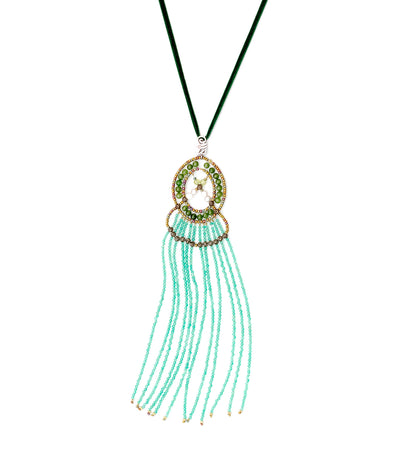 ziio seduction green small pendant