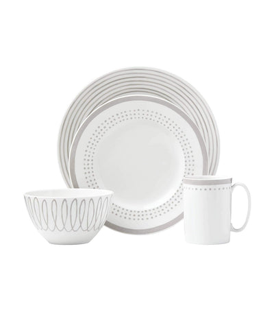 4-Piece Charlotte Street East Gray Place Setting