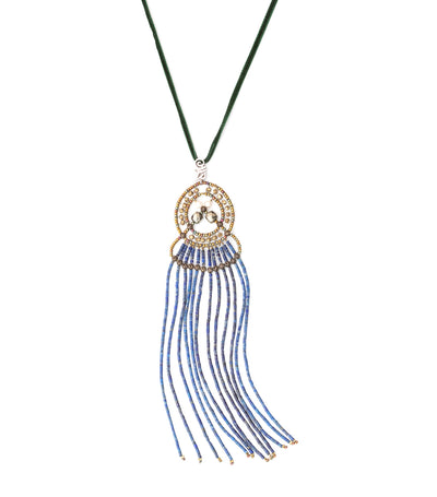 ziio seduction lapis small pendant