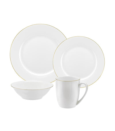 royal worcester serendipity gold 16-piece set